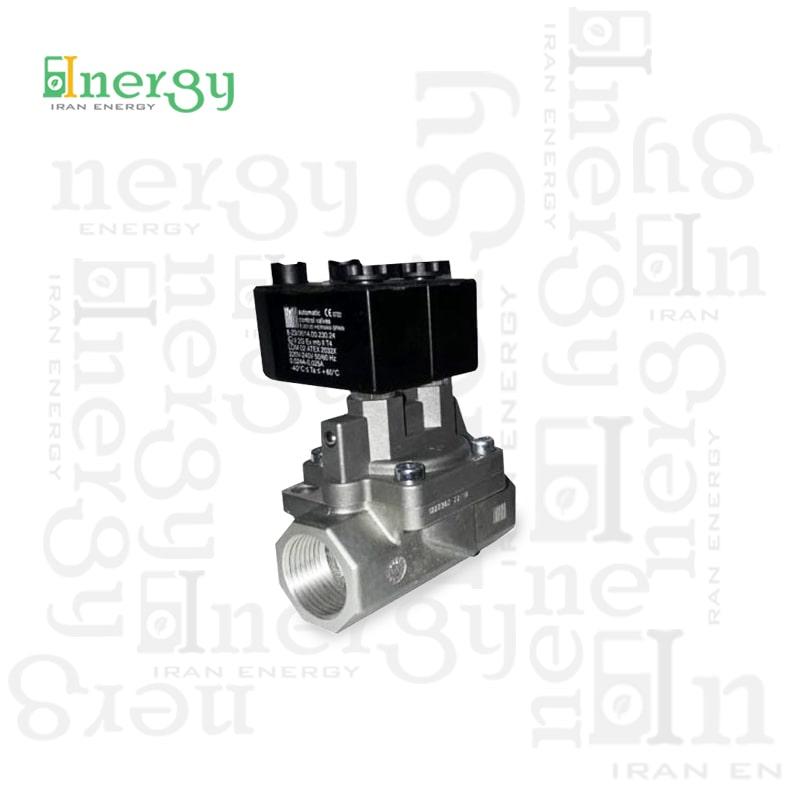 شیر برقی solenoid valve