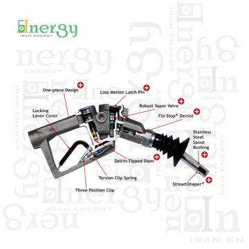 نازل بنزین استیج 2 بازیافت بخارات