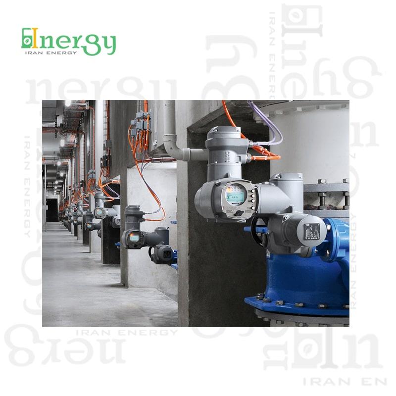 اکچویتور برقی اتوماسیون صنعتی آئوما