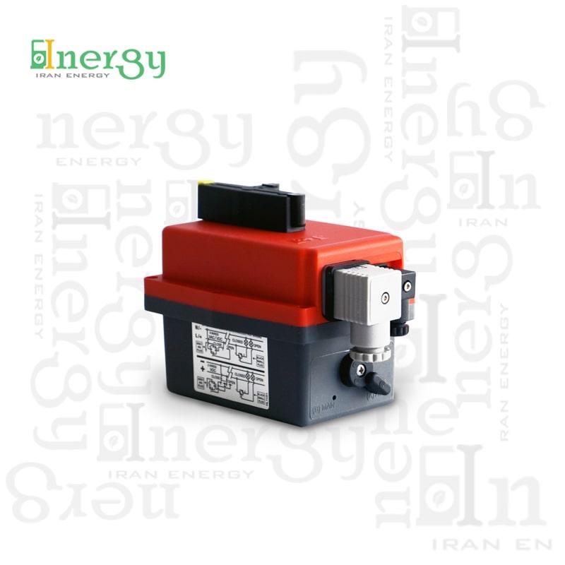 اکچویتور الکتریکی جی جی مدل J2 J+J Electric actuator