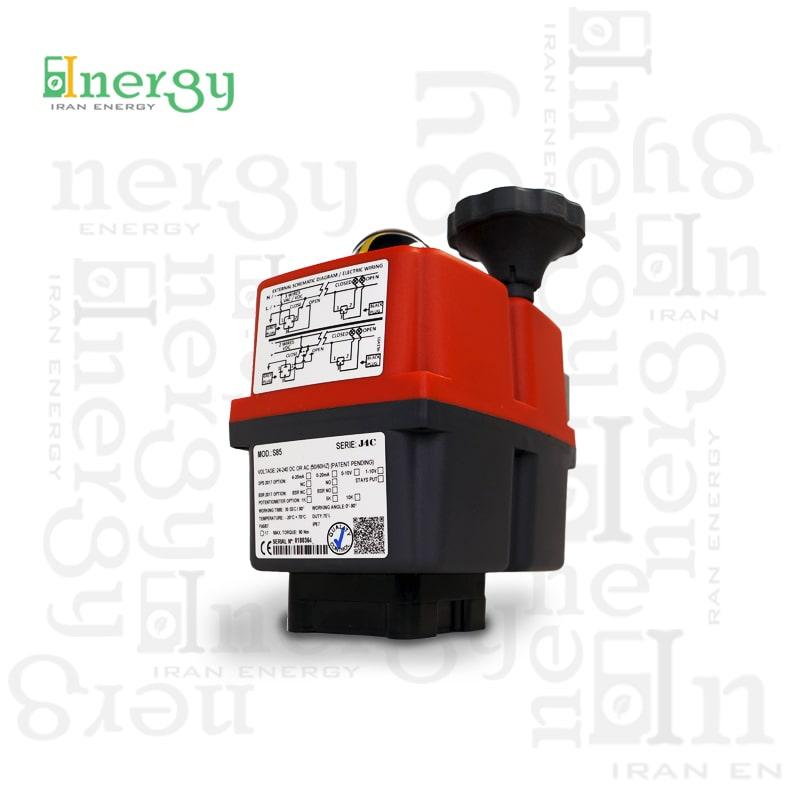 اکچویتور الکتریکی جی جی مدل J4 J+J Electric actuator