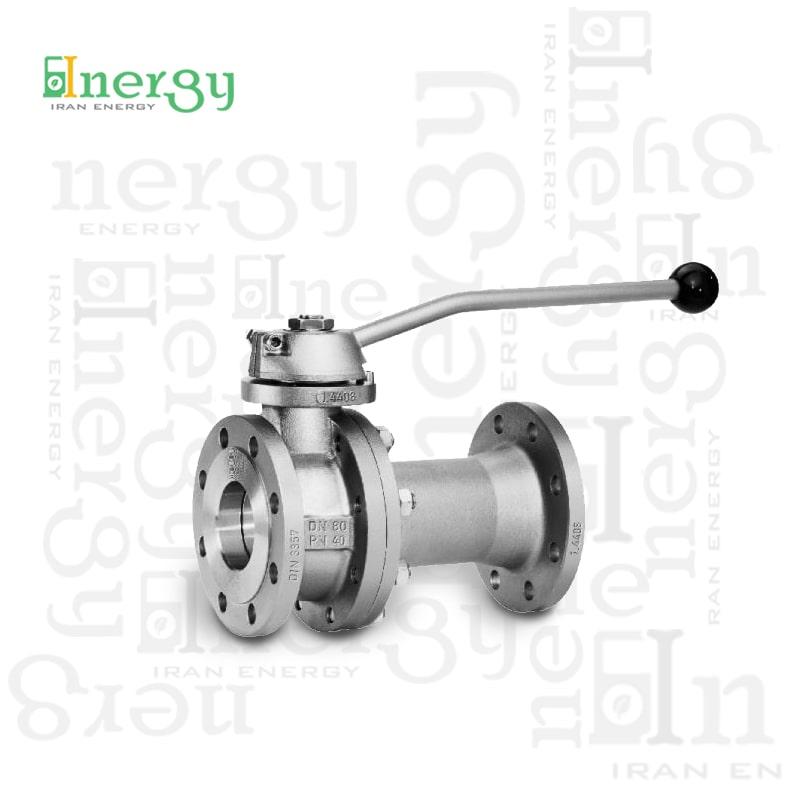 شیر توپی بال ول کرومباخ Krombach ball valve