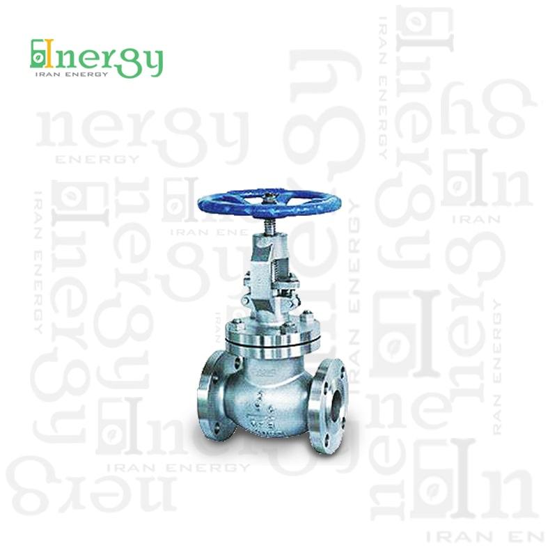 شیر ساچمه ای گلوب ولو اوریون Angle Globe valve
