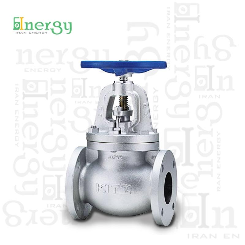 شیر ساچمه ای کیتز Kitz Globe valve