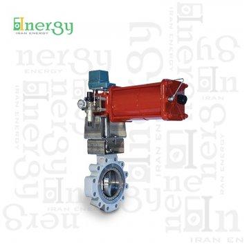 کنترل ولو روتاری ماسونیلان Masoneilan Rotary control valve