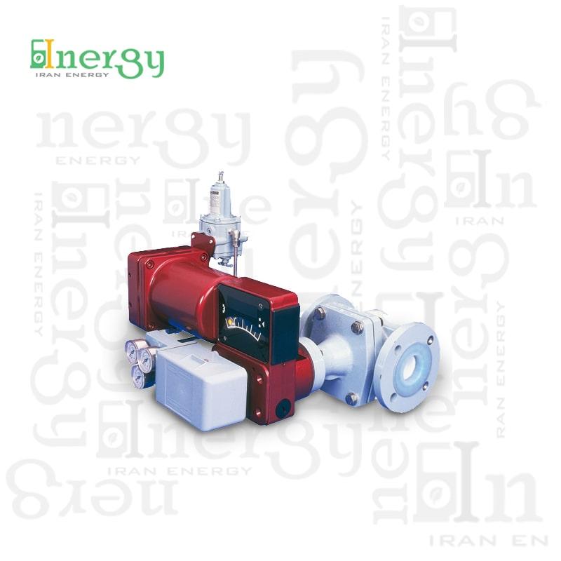 شیر کنترل روتاری ماسونیلان Masoneilan Rotary control valve
