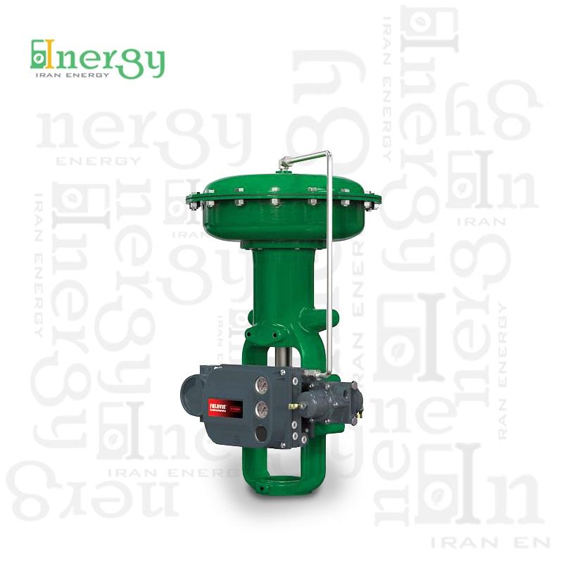 کنترل ولو خطی اسلایدینگ فیشر Fisher Linear control valve