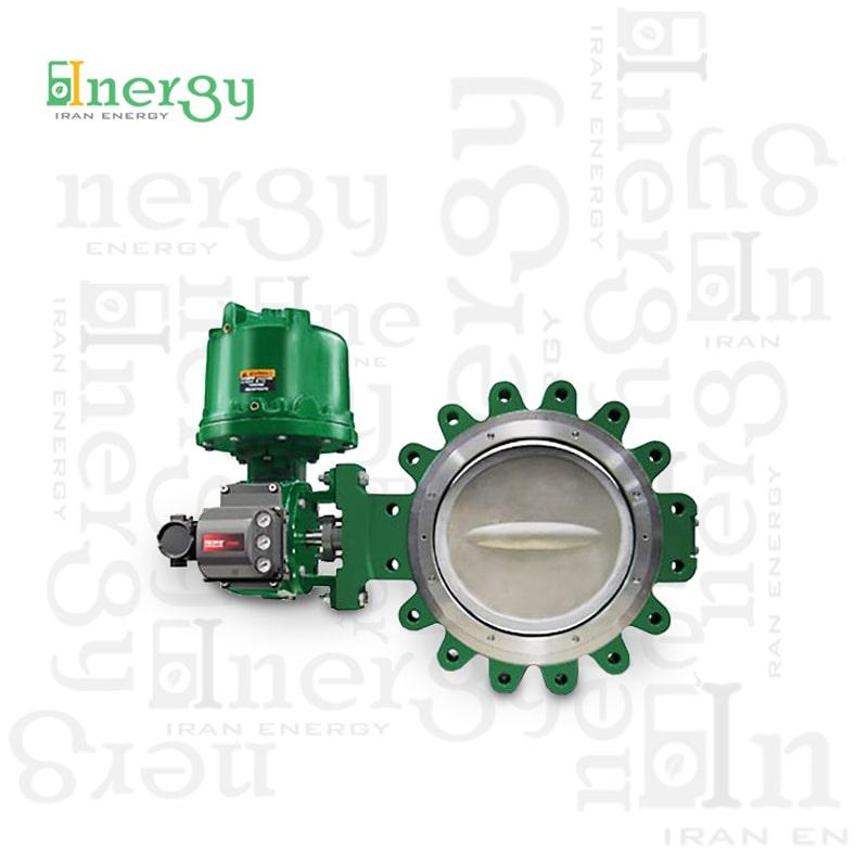 کنترل ولو روتاری چرخشی فیشر Fisher rotary control valve