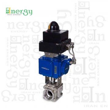 عملگر پنوماتیکی کامپکت هابونیم Habonim pneumatic compact actuator