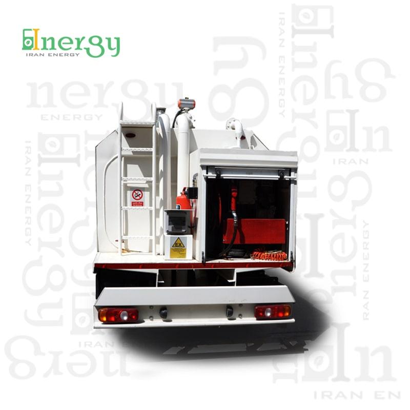 خودرو سوخت رسان سیار mobile fueling dispenser