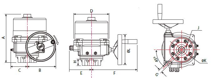 مدل PRO 100-2300 عملگر پروال