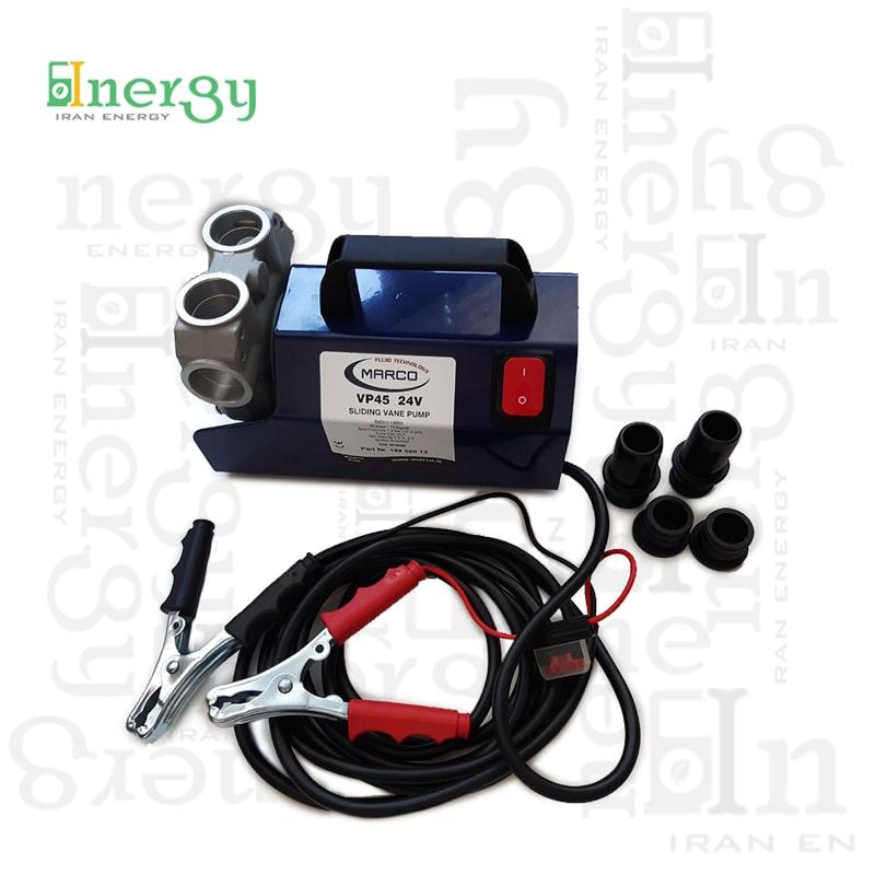 پمپ خودمکش هیدرولیکی مارکو Marco vane pump 24V