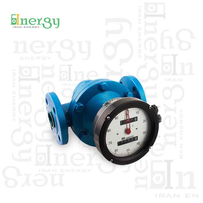 LC Digital Oval Gear Flow Meter