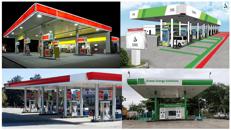 جایگاه انواع سوخت